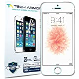 Tech Armor High Definition Clear Film Screen Protector for iPhone 5/5C/5S/SE (Pack of 3)