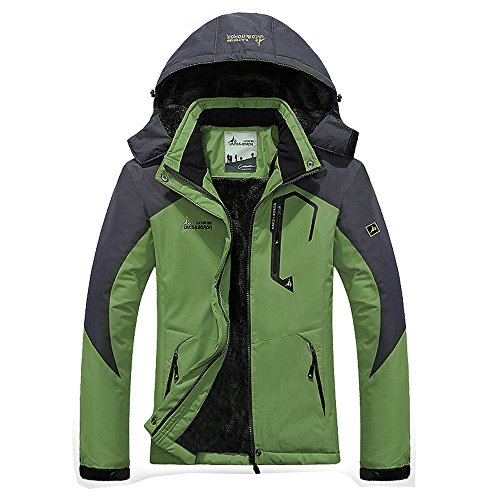 CHUSANHI Waterproof Mens Snow Ski Jacket Winter Snowboard Windproof Rain Skiing Jackets by CHUSANHI