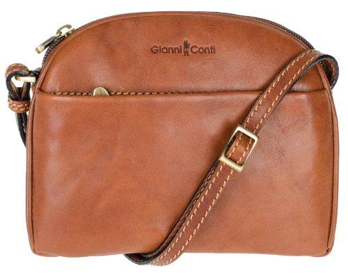 Gianni Conti - Bolso al hombro para mujer - marrón