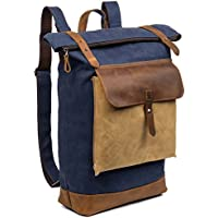 BOSTANTEN School Travel Camping Gym Laptop Backpacks (5-Blue)