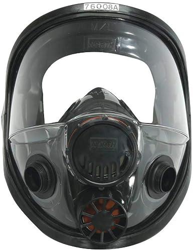 North 760008A Silicone Full-Facepiece Respirators 7600 Series