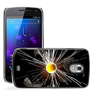 Etui Housse Coque de Protection Cover Rigide pour // M00152321 Resumen Exploding Diseño CG // Samsung Galaxy Nexus GT-i9250 i9250
