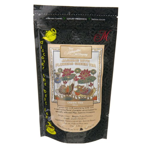 Metropolitan Tea Discovery Loose Tea Pack, Jasmine with Flow