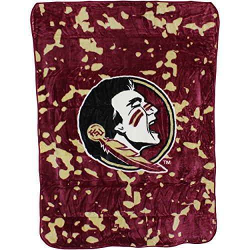 College Covers Florida State Seminoles Throw Blanket/Bedspread