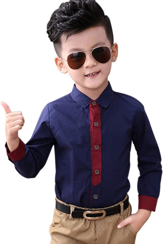 KINDOYO Trajes De Ceremonia Niños - Algodón Slim Fit Niños ...