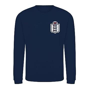 ee7695cb Kids Retro England 3 Lions Football Fan Sweatshirt Long Sleeve ...