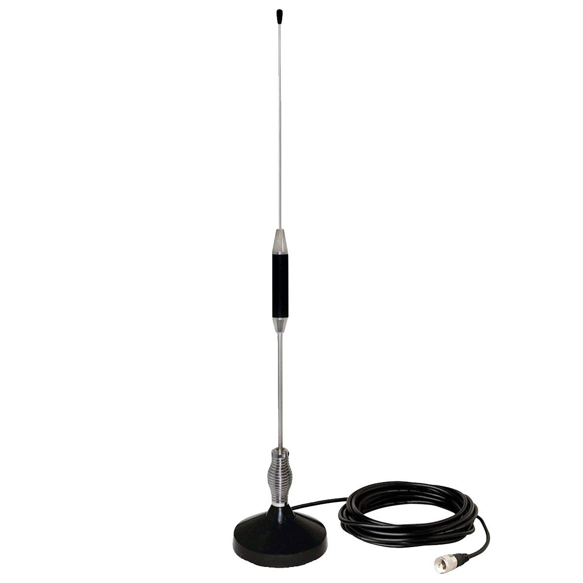 CB Antenna 28 inch for CB Radio 27 Mhz,Portable Indoor/Outdoor Antenna Full Kit with Heavy Duty Magnet Mount Mobile/Car Radio Antenna Compatible with President Midland Cobra Uniden Anytone by LUITON