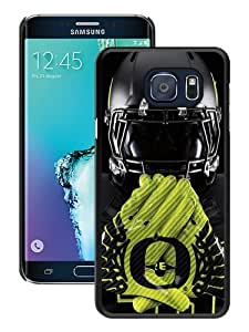 Popular Samsung Galaxy S6 Edge Plus Case ,Beautiful And Durable Designed Case With Oregon Ducks 03 black Samsung Galaxy S6 Edge+ Screen Cover Custom Drsigned Phone Case