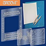 Claritystamp - Groovi Plate Starter Kit - Parchment Crafting System