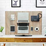 Philiphome Protect Your TV Desktop and cowork Space with Two laptops Tablet Calculator Protect Your TV W32 x H51 INCH/TV 55''