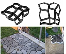 Garden Path Maker Molds Walk Pavement Concrete