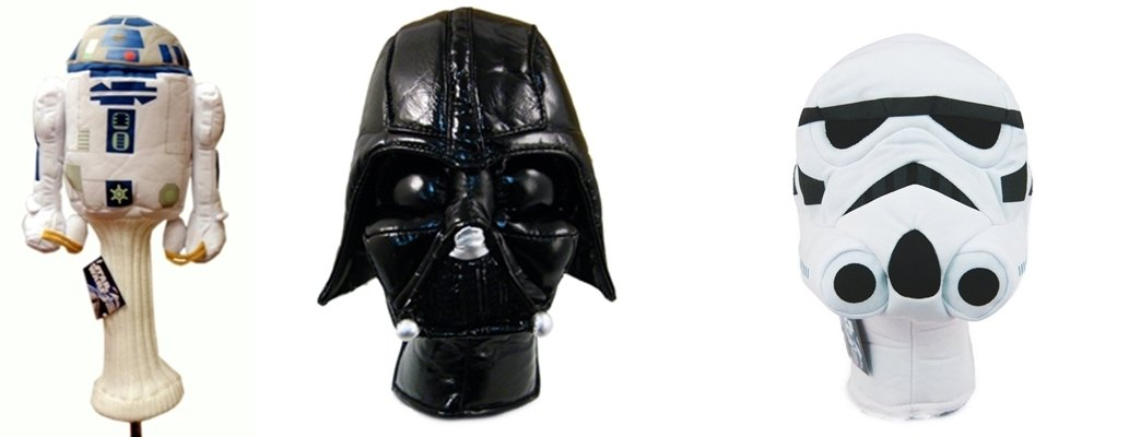 Star Wars Series 460cc & (2) Hybrids Headcover Combo Set 43