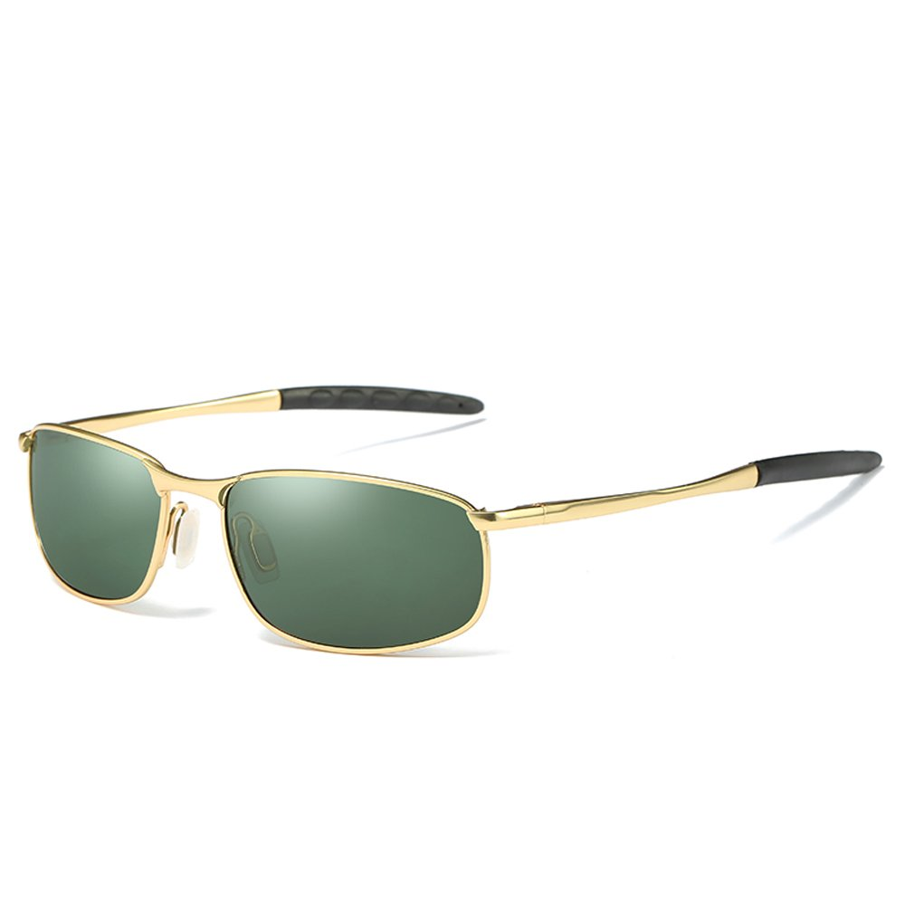 60c1151780e8 Amazon.com  JL Polarized Sunglasses UV400 Driving Fishing Golf Sport Eyewear  for Men  Clothing