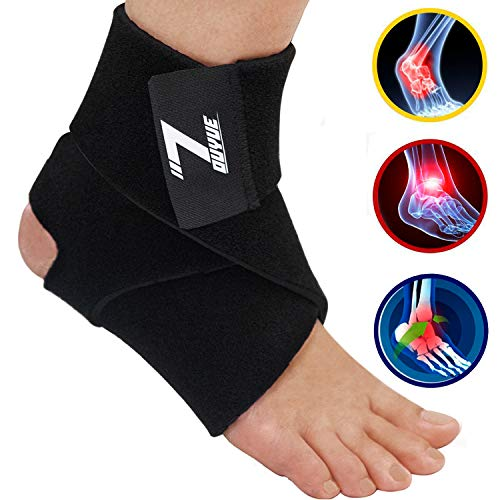 Ankle Brace for Plantar Fasciitis and Ankle Support – Ankle Wrap for Sprain, Tendonitis & Heel Pain Relief for Women & Men