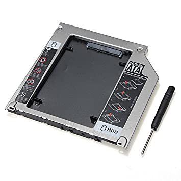 ChaRLes 2 ª Sata 2,5 Pulgadas HDD Disco Duro Caddy Bay para ...