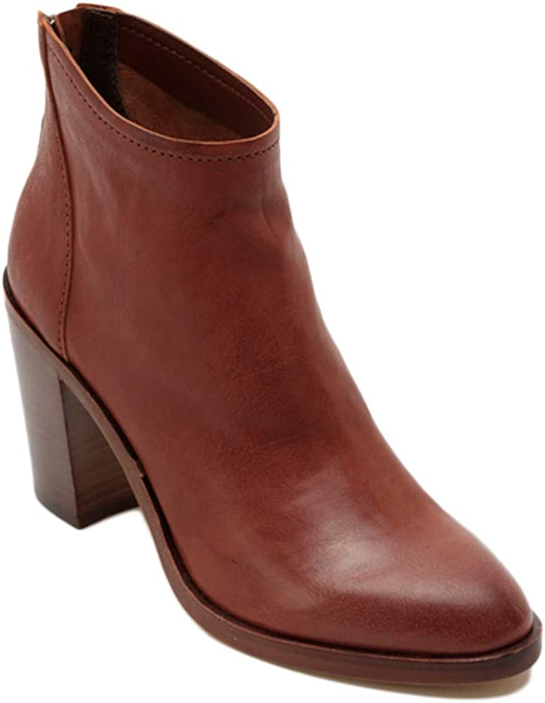Dolce Vita Womens Stevie Cognac Leather