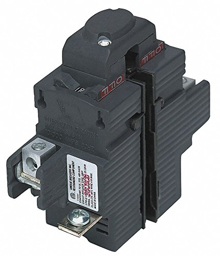 PUSHMATIC Plug in Circuit Breaker, UBIP, Number of Poles 2, 50 Amps, 120/240VAC, -