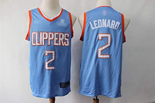 HS-QIAN1 2# Camiseta De Baloncesto De La NBA Leonard Clippers ...