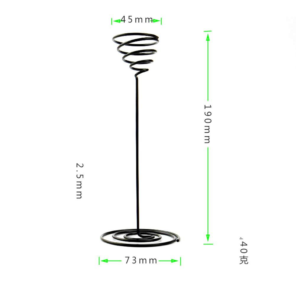 Yardwe Luft Pflanze Halter Metall Air Plant Halter St/änder Tischpflanzer Container Pflanzgef/ä/ß 3 St/ück Schwarz
