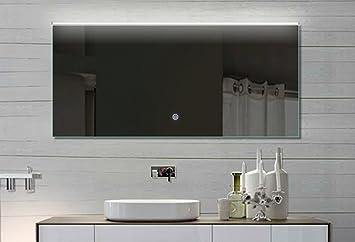 rmi-onlineshop Mila Badezimmer Spiegel mit LED Beleuchtung ...