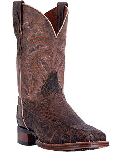 Dan Post Heren Denver Caiman Cowboylaars Brede Vierkante Neus - Dp3965 Bruin