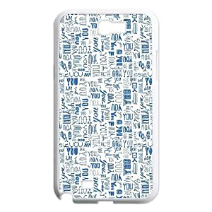 Samsung Galaxy N2 7100 Cell Phone Case White You 2 JSK813411