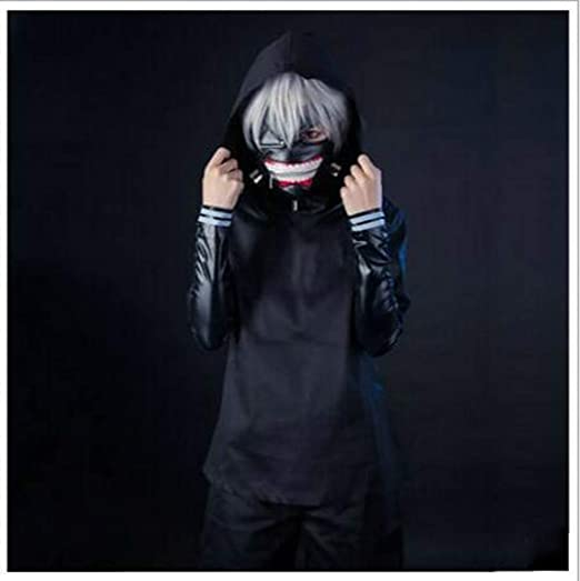 HZ andi Tokyo Ghouls Ken Kaneki Traje de Cosplay, Ropa, Ropa ...
