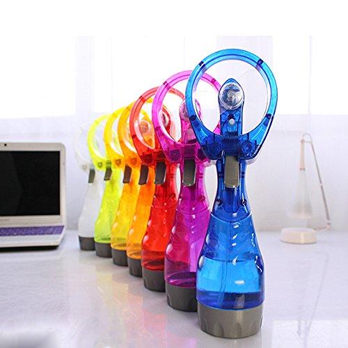 (Wrisky Portable Fashion Mini Water Spray Cooling Fan Mist Sport Beach Camp Travel Gift)