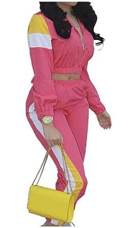 EnergyWomen - Chándal - para Mujer Rojo Rosa Roja US X-Small ...