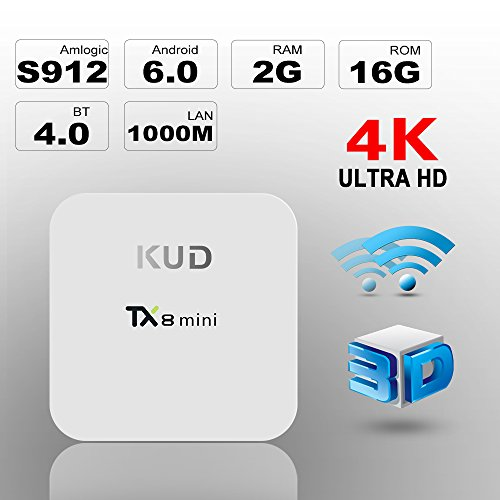 Andriod TV Box KUD TX8 Mini Amlogic S912 Android 6…
