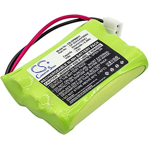 700mAh Replacement Battery for AEG 60AAAH3BMJ 65AAAH3BMJ AT&T 80-5848-00-00 89-0099-00 BT27910 BT5633 BT6823 TL26158 AUDIOLINE BT-C250