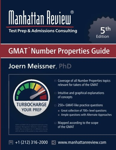 Manhattan Review GMAT Number Properties Guide [5th Edition]: Turbocharge your Prep