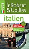 le robert et collins dictionnaire poche francais italien italien francais french and italian edition