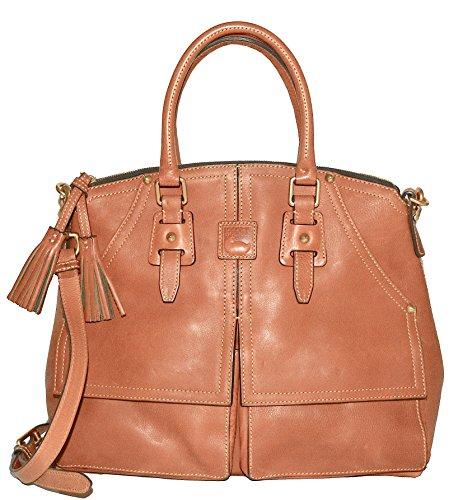 Dooney Bourke Clayton Leather Satchel - - Leather Purse Florentine