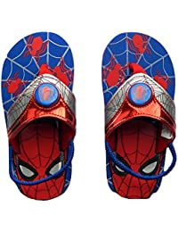 Spider-Man Marvel Avengers Light-Up Flip Flops Beach Sandals with Lights