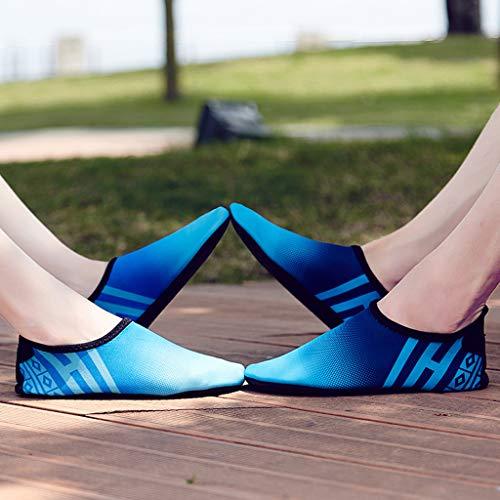 Sport Pelle Sneakers Stampa Running Donna Breathable Blu Lace Scarpa up Shoes Ragazzawomen Primavera Casual Ginnastica Respirante Moda Per Estate Fitness Ihengh Scarpe wAOSx