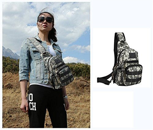 TaoMi- Mochila al aire libre - bolsa de la cámara bolso de camuflaje hombro hombres y mujeres paquete al aire libre deporte bolsa Messenger Bag ( Color : D , Tamaño : 20L or less ) B