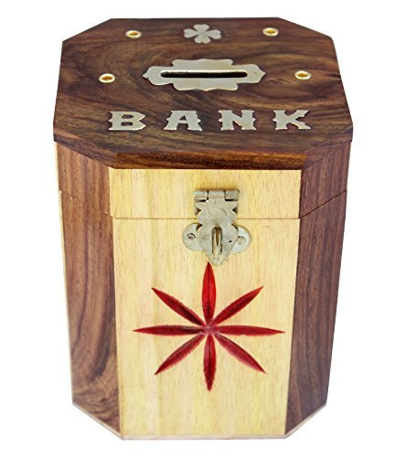 itos365-handcrafted-wooden-money-bank-safe-kids-piggy-coin-holder-box-gifts-4-x-5-inches