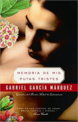 cover image, memorias de mis putas tristes