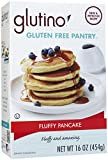 GLUTINO Brown Rice Pancake And Waffle Mix, 16 OZ