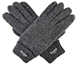 Bruceriver Ladie's Wool Knit Gloves with Thinsulate Lining Size S (Anthra)