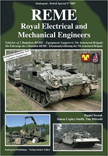 REME Royal Electrical And Mechanical Engineers Vehicles Of 2 Battalion