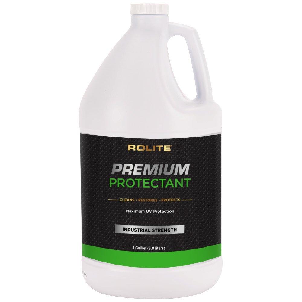 Rolite Premium Protectant (1gallon) with Maximum UV Protection for Interior & Exterior Vinyl, Plastic, Rubber, Dashboards for Automotive, Marine, RVs
