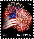 #3: USPS Forever Stamps, Star-Spangled Banner, Roll of 100 (Fireworks)
