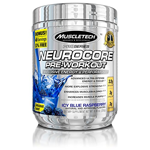 MuscleTech NeuroCore, Explosive Pre Workout, 40 Servings