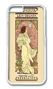 Apple Iphone 6 Case,WENJORS Awesome La Dauphine Aux Alderaan Hard Case Protective Shell Cell Phone Cover For Apple Iphone 6 (4.7 Inch) - PC Transparent hjbrhga1544