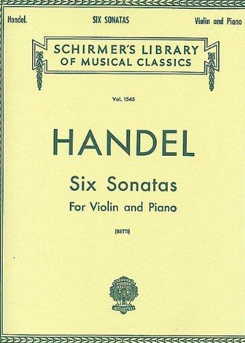 Handel Six Sonatas - 2