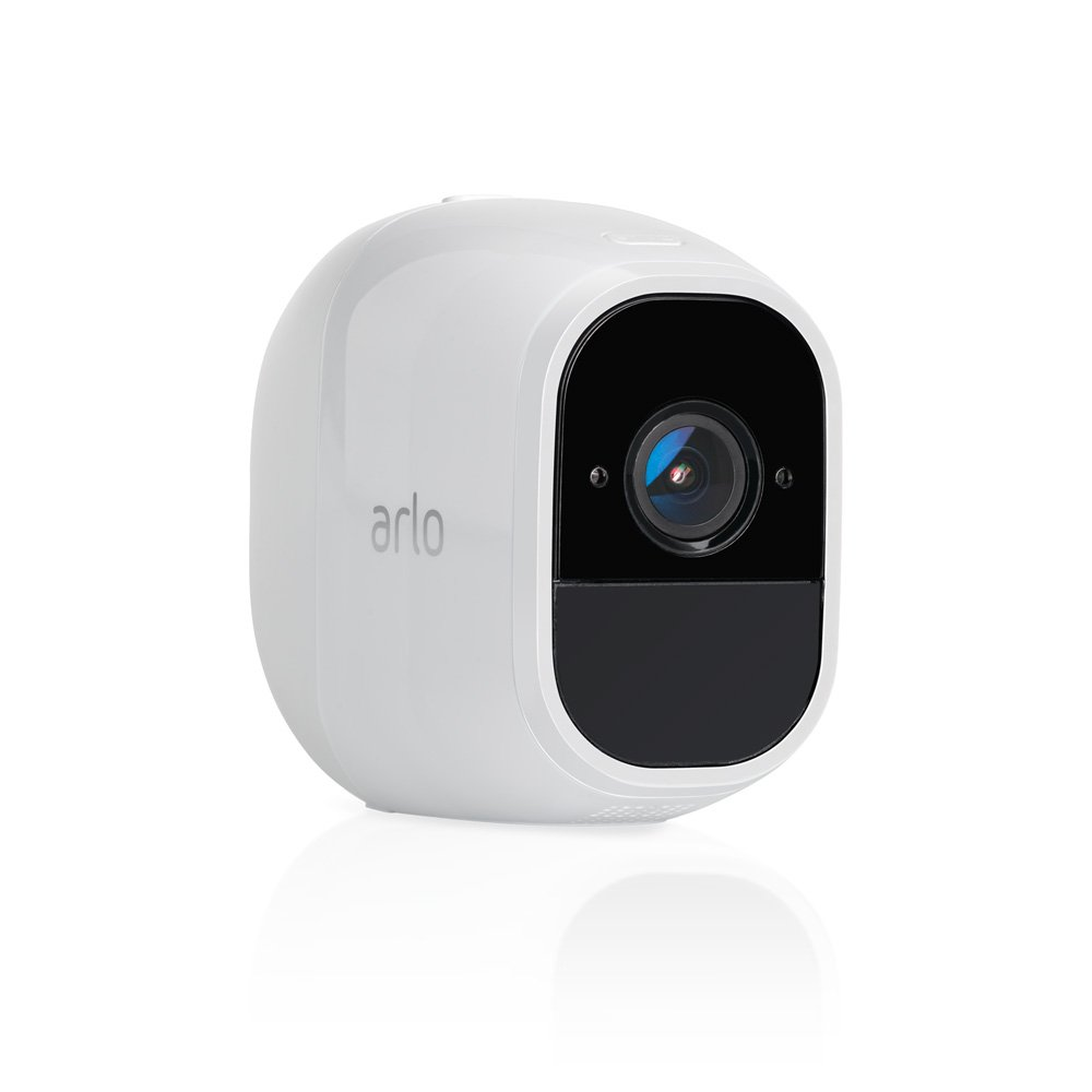 Arlo Pro 2 by NETGEAR Add-on Security Camera, Rechargeable, Wire-Free, 1080p HD, Audio, Indoor/Outdoor, Night Vision, Works with Amazon Alexa (VMC4030P) [Base Station not Included] by NETGEAR (Image #1)