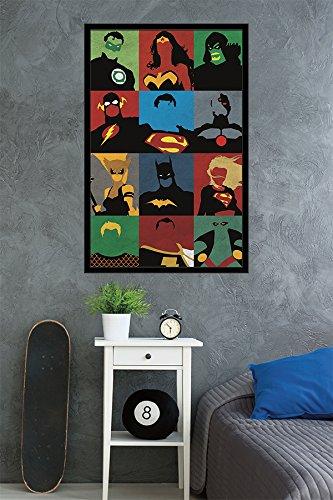 Trends International Justice League Minimalist Wall Poster 4