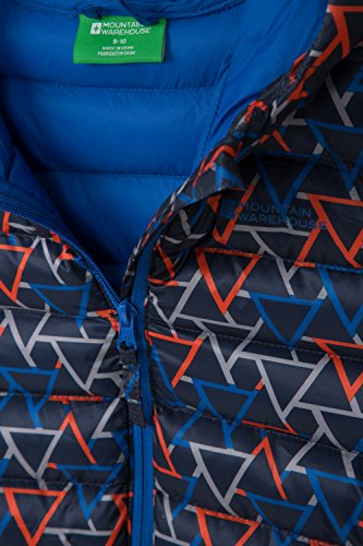Blue Printed Warehouse Boys Padded Mountain Jacket Dark Seasons nOUFzqwqZ